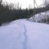 大雪の後で