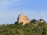 岡山県玉野市、王子が岳のニコニコ岩