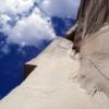 ヨセミテ国立公園のエルキャピタン、ゾディアックのクライミング